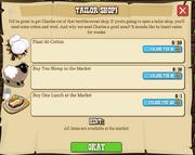 Tailor Shop!