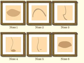 Female Nose Type