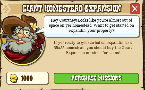 Buy Giant Homestead Popup