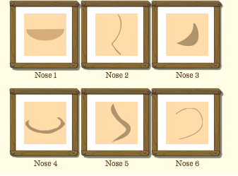 Male Nose Type
