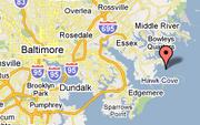 Map Coordinate Location