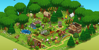 Frontier Jack Homestead with Paths