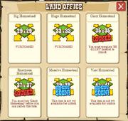 Land office buy land