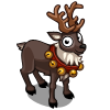 Gray Reindeer-icon