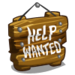 Help Wanted Sign-icon