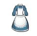 Plain Blue Dress-icon
