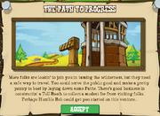 The Path to Progress Popup