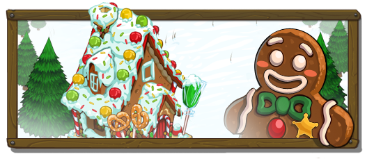 Gingerbread House Banner