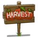 Harvest Sign-icon