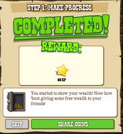 Make Progress Complete