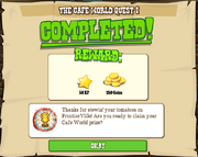 The Cafe World Quest 1 Complete