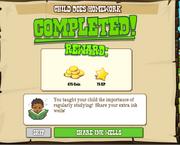 Child Does Homework Complete