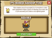It's Chicken Roundup Time Accept