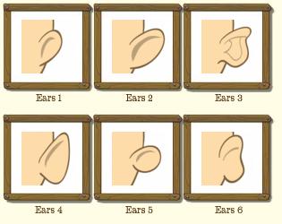 Male Ear Types
