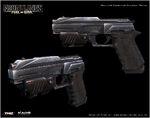 MarcusDublin FrontlinesFOW WC Pistol