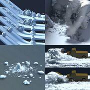 Snow Simulation (Frozen 2013 film)