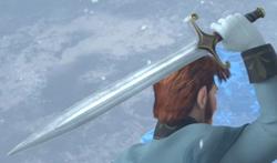 Hans' sword