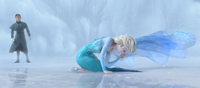 Elsa devastated by Hans' news