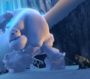 Assault on Elsa's ice palace