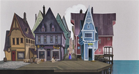 Arendelle town concept