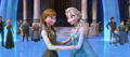 Elsa and Anna in courtyard.png