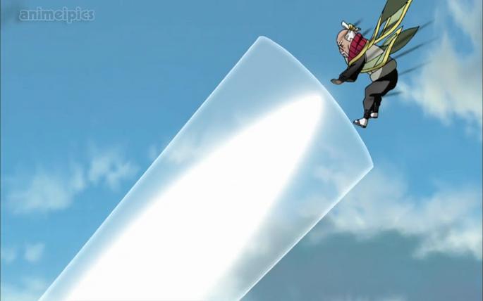 Onoki's Particle Style Atomic dismentling Jutsu-animeipics