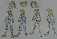 Claudia casual and anatomy