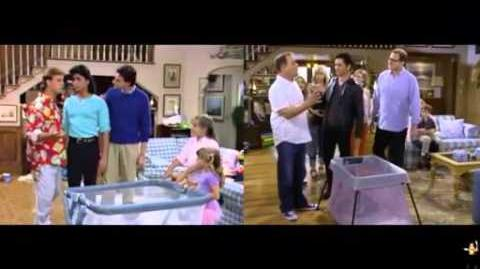 Full and Fuller House Meet The FlintStones