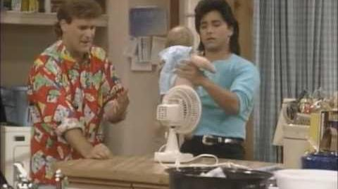 Full House Funny Clip - Jesse and Joey's First Diaper Change
