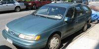 Edward Elric's 1986 Ford Taurus Wagon