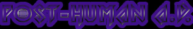 File:Post human a.d. logo.png