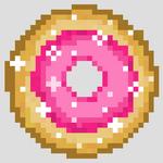 Pink donut img
