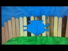 Dippy shape on fence