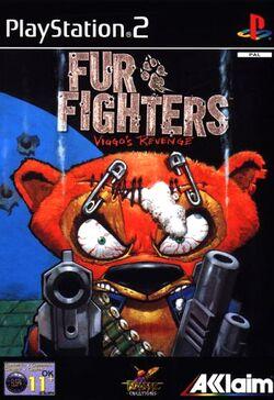 PS2 fur fighterseu