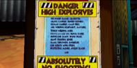 Explosives Warehouse