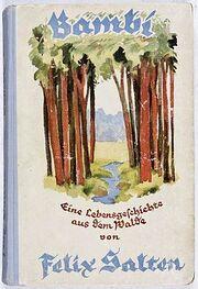 Bambi book cover