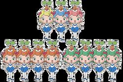 11 princesses