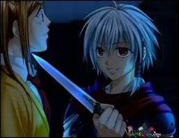 Evil shura knife