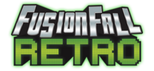 FusionFall Retro Logo