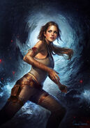 Tomb raider by charlie bowater-d5xzpjd