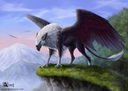Griffin dawn by azany-d4v2mgk