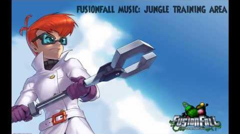 Fusionfall Music - Jungle Training Area(Infected Zone)