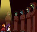 Paura del pianeta robot