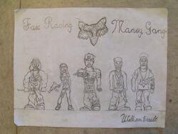 Fox Racing Money Gang