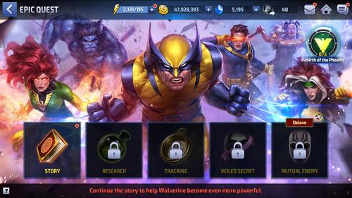 Epic Quest - Rise of The X-Men