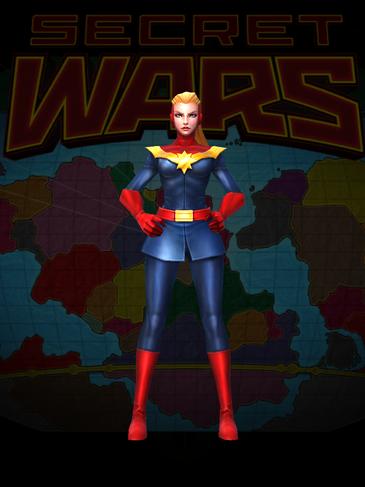 Captain Marvel Secret Wars