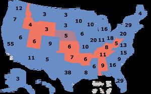 2016 electionMap