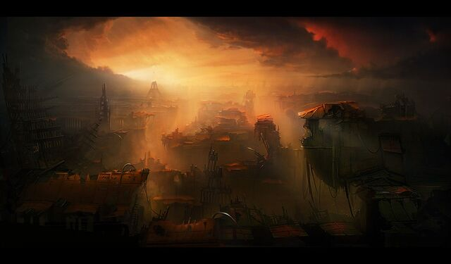 File:Eiffel tower paris sunset ruins apocalypse artwork desktop 1280x750 hd-wallpaper-25977.jpg