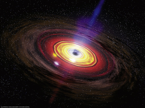 File:Supermassive black hole eating matter.jpg