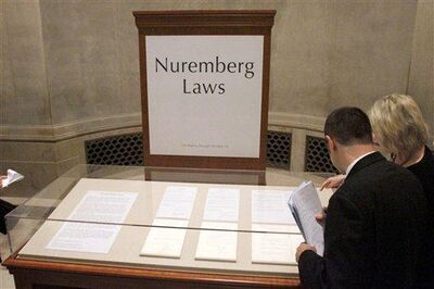 Nuremberg Laws case